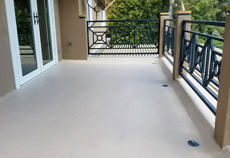 Coto de Caza Deck Restoration & Leak Repair