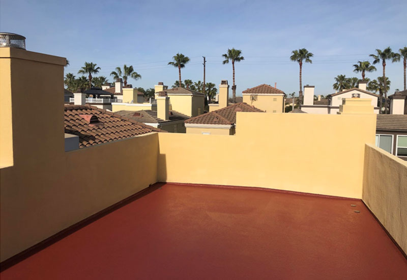 Custom Deck Color Huntington Beach