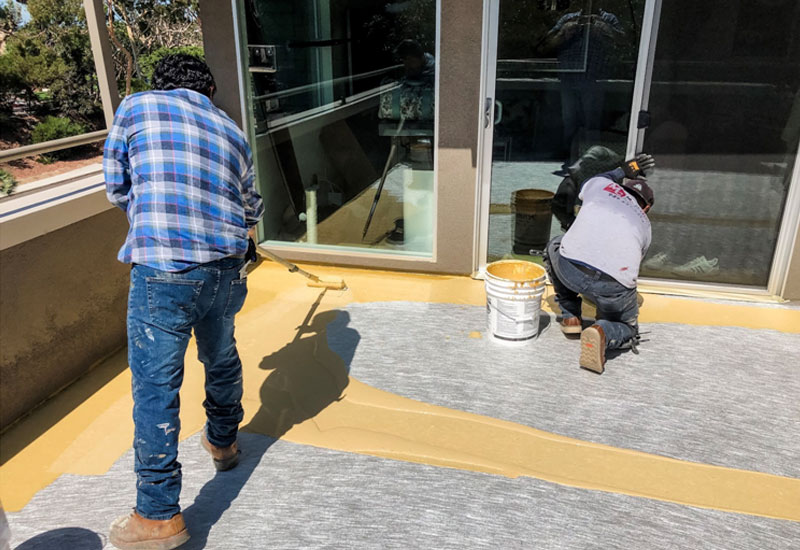 Fiberglass Waterproof Deck Corona Del Mar