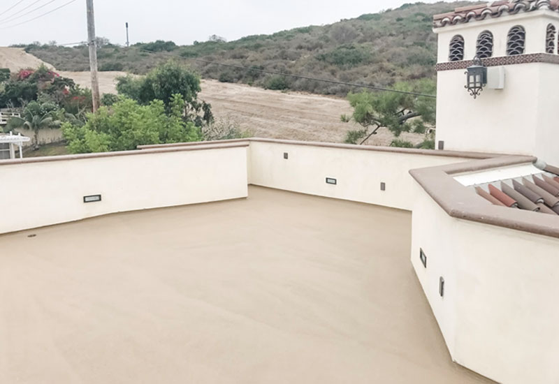 Waterproof Roof Deck San Clemente