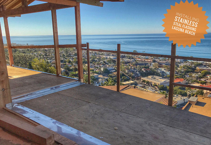 New Deck Waterproofing System in Laguna Beach, CA