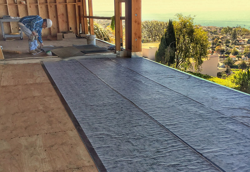 Under Tile Deck Waterproofing Laguna Beach, CA