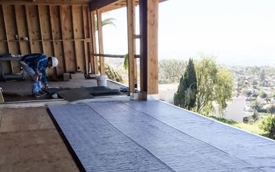 New Construction Waterproofing Experts in Dana Point
