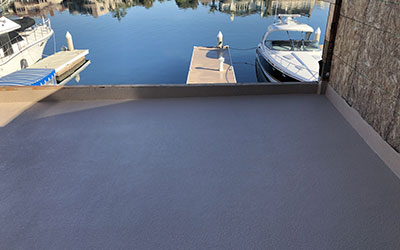 New Construction Deck Waterproofing North OC