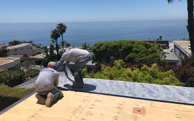 New Construction Waterproofing Experts Laguna Beach